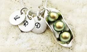 peas in a pod charm peas in a pod necklace jc jewelry design groupon