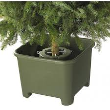 christmas tree holder christmas tree stand square green order online at sunware