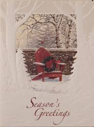 pumpernickel press greeting cards season s greetings br scenic christmas cards 924 br font