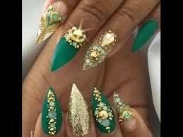 spring stiletto nails stiletto nail art compilation for spring