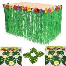 Tropical Themed Party Decorations - online get cheap hawaiian table skirt aliexpress com alibaba group
