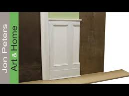 chair rail tips on designing and installing chair rail and panel molding by