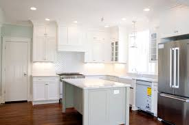 loving the white kitchen tiek built homes cabinets is bm dune