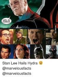 Hail Meme - hail dc comics via 9gagcom dc ao hc stan lee hails hydra 9gag