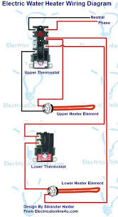 electric water heater wiring diagram diagram wiring diagrams for