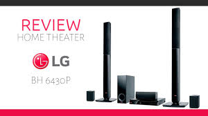 lg 5 1 home theater review completo home theater lg bh6430p youtube