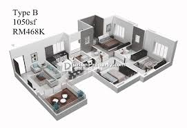 apartment for sale at saujana puchong sp 6 puchong for rm 482 000