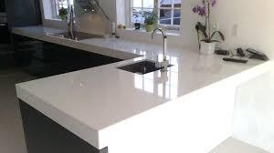 plan de travail cuisine blanche plan de travail cuisine blanc plan de travail quartz blanc cuisine