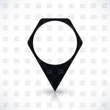 Map Maker Free Blank Black Hexagonal Map Maker Royalty Free Vector Clip Art Image
