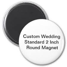 wedding magnets wedding refrigerator magnets zazzle
