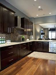 what color wood floors go with espresso cabinets 32 cabinets w light or floor ideas kitchen