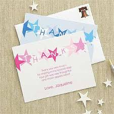 personalized thank you cards personalized kids thank you cards