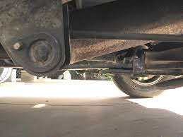 nissan frontier jacked up energy suspension leaf spring bushings fixes handling issues
