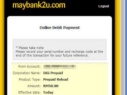 reload prepaid card online how to reload prepaid card mobile using maybank
