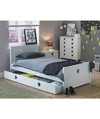 Single Sleigh Bed Buy Daisy Single Sleigh Bed Frame With Storage White At Argos Co