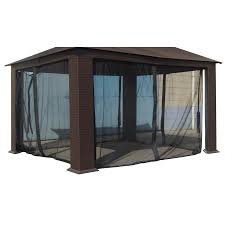 Garden Treasures Canopy Replacement by Shop Gazebos U0026 Accessories At Lowes Com