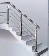 Stainless Steel Banister Rail Stunning Staircase Rail With A Modern Design With Stainless Steel