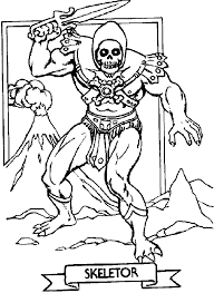 she ra coloring pages he man coloring pages