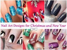 nail art designs for christmas and new year u2013 beautifulhameshablog com