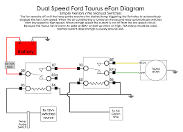 wiring diagram for ford taurus efan electrical zr2usa com
