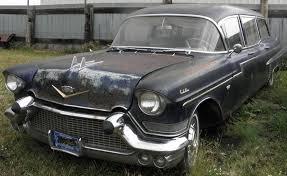 hearse for sale 1957 cadillac fleetwood 75 miller meteor 5 door commercial hearse