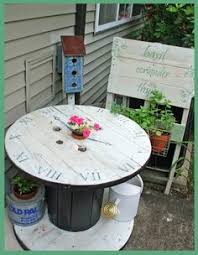 Wooden Spool Table For Sale My Cable Spool Table I Made Should Be For Sale Soon