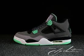 green glow 4 green glow air 4 retro sneakernews