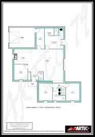 plan maison 100m2 3 chambres plan maison 100m2 plain pied 3 chambres