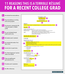 college graduate resume 8 reasons this is an excellent resume for a recent college graduate