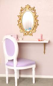 Girls Wooden Vanity Purple Vanity Table Ideas And Bedroom White Solid Wood Images