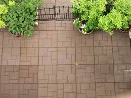 Basket Weave Brick Patio by Home Depot Rubber Patio Tiles Home Outdoor Decoration