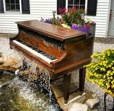 i dug a hole in my backyard pianos fountain and gardens