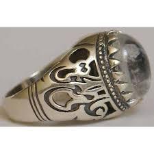silver ring for men islam gemstones mystical powers understanding it spiritually lumiere