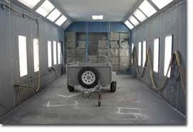 chambre de peinture automobile sablage au jet libre service