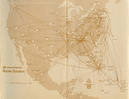 Psa Airlines Route Map by Cities Eastern Air Lines Flew To Wikipedia Airliners Net