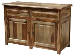 unique solid wood espresso storage cabinet buffet rustic