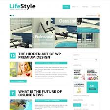 lifestyle html template blog style website templates