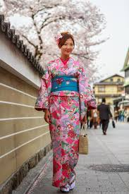 young women in kimono dress editorial image image 45685660