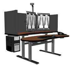 Computer Desk Houston Pacs Workstation Standing Desk Radiology Desk Pacsrfq 1865