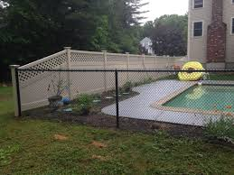 custom wooden fences chain link dog kennels middleborough ma