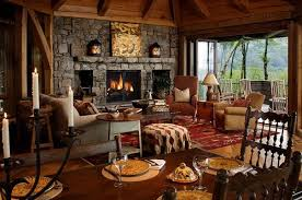 mountain home interior design family room in a carolina mountain home by kathryn