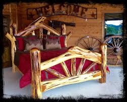 Wooden Log Beds Log Beds 4 U