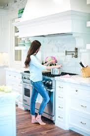 Rachel Parcell Home Cozy Classic White Kitchen Inspiration Blue Door Living