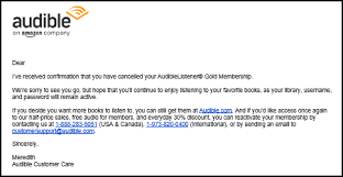 service recovery 3 ways that audible uses its cancellation path