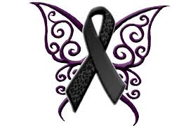 tattoos butterfly melonoma cancer ribbon here is my test
