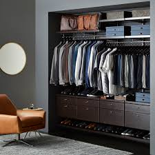 Closet Solutions Mens Walk In Closet Fabulous Mens Closet Closet Traditional With