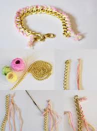 diy bracelet with chain images Best 25 diy bracelet ideas diy bracelets making jpg