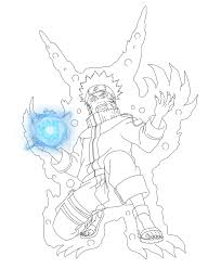naruto kyuubi coloring pages sketch coloring page coloring home