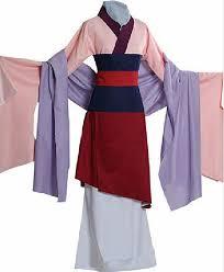 amazon com lylas halloween costume mulan dress clothing