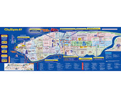 Map Of Manhattan New York City by Maps Of New York Detailed Map Of New York City Tourist Map
